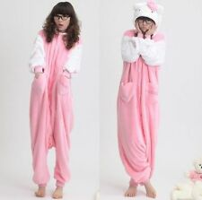 Kigurumi Adult Unisex Fleece Animal Costumes Onesies Pajamas Cosplay Sleepwear