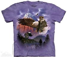 The Mountain Eagle Mountain Majesty Purple Mens T-Shirt S,M,L,XL,2XL,3XL
