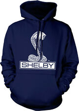 Ford Shelby Cobra Emblem Classic American Muscle Car Mens Hoodie Sweatshirt