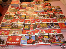Manchester United ( Man Utd ) *MINT* Home Programmes 2013/14 - Select from list
