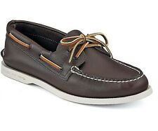 Sperry Top Sider Men's Authentic Original 2-Eye Boat Shoes Brown 0195115