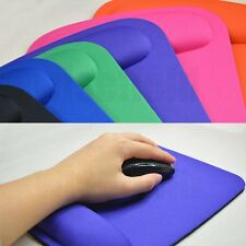 MousePad Wrist Comfort Mat Mice Pad for Optical Mouse(Big & Thick High Quality )