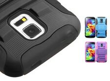 Advanced Armor Rugged Protector Cover Case w/Stand for Samsung Galaxy S5 Mini