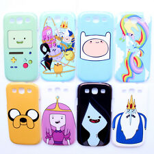 Adventure Time Finn Jake Beemo Vampire Queen Samsung Galaxy S III S3 Case Cover