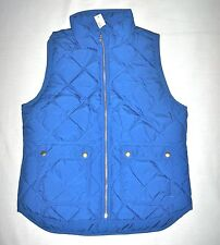 J.Crew new with tag Excursion Quilted Vest Color:Deep River