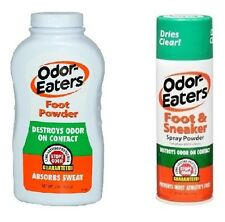 Odor Eaters Foot Powder (6 Oz) or Foot and Sneaker Spray Powder (4 Oz)