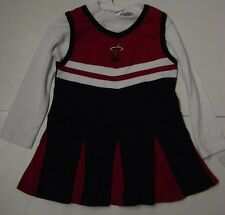 NEW Youth Infant Girls Miami HEAT Cheerleader NBA Licensed Costume Cheer Outfit