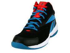 [V61143] REEBOK COURT FLYER BLACK/BLUE/RED/WHITE MEN'S SIZE 8 TO 11 NIB