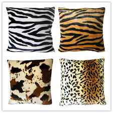 Jungle Animal Fur Pattern Cushion Cover Pillow Throw Case Sofa Living Home Decor