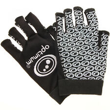 Optimum Rugby Black And White Stik Mits All Sizes Available