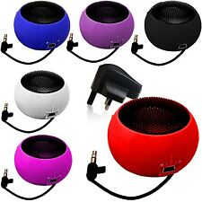MINI PORTABLE CAPSULE SPEAKER+BLACK PLUG FOR MOBILE PHONES,TABLET,IPAD IPHONE