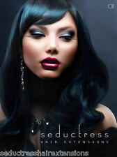 """01 JET BLACK REMY TAPE HAIR EXTENSIONS SKIN WEFT HUMAN 20"""" & 22"""" Tape holds 3 mo"""