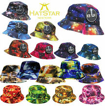 Bucket Hat Boonie Galaxy Hunting Fishing Outdoor Cap Unisex 100% Cotton NEW