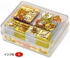 San X Rilakkuma small Stamp Sets- 4 different options