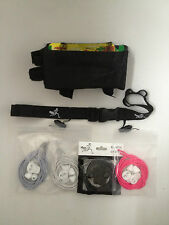 Triathlon / Ironman Race Pack - Top Tube Box, Race Belt and Lock Laces Combo