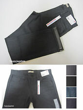 2014 A/W New Model UNIQLO MEN Selvedge Slim Fit Straight Jeans From Japan New