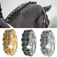 NEW CRYSTAL,BLACK,GOLD PLAITING BANDS PK 5 OR 15 GROOMING,HORSE SHOW BRIDLE MANE
