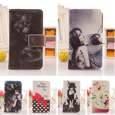 Cute Flip PU Leather Case Protection Cover Skin For Asus Padfone 2 A68