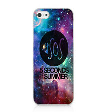 5 Seconds of Summer GALAXY Nebula 5SOS Pattern Case Cover For iPhone 5 5S 5C 4S
