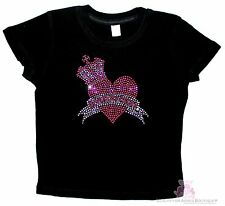 Love Beauty for Ashes Baby Crown Princess Pink Heart Anointed Prayer T-Shirt
