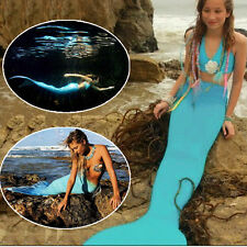 Swimmable Swim Mermaid Tail & Top Swimsuit Beachwear Beach Dresses Fancy Costume