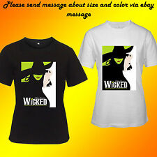 Wicked Broadway Musical The Untold Story Of The Witches Of Oz Women Shirt S-2XL