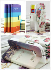 New Printing PU Leather Cover Case for Alcatel OT 4030 6030 4007 5020 C5 C7 4033
