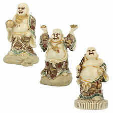 THE LEONARDO COLLECTION HAPPY BUDDHA ( 3 STYLES) LP22472
