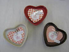 THE STRAITS LES DELICES D' ANTAN SCENTED HEART SHAPED CANDLE (3 ASST) 1531