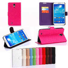 Wallet Leather Flip New Phone Cover Case Stand For Samsung Galaxy Mega 6.3 i9200