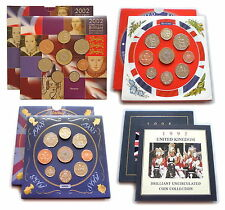 1982 to 2007 GB UK Brilliant Uncirculated Coin Set Royal Mint  * Multi Listing *