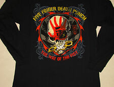 Five Finger Death Punch Long Sleeve Way Of The Fist Shirt NEW S M L XL
