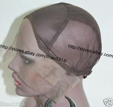 Glueless Lace Front Wig Cap Full Caps Stretch Weave Cap For human hair wig make