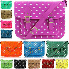 Girls School Bags Boys College Satchel Cross Body Messenger KidsWork Shoulder