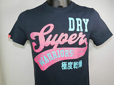 SuperDry Shirt WARRIORS ENTRY TEE French Navy blau T-Shirt+NEU+ Größe S & XL