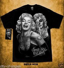 Authentic DGA David Gonzales Homies Marilyn Monroe Smile Now Cry Later T Shirt