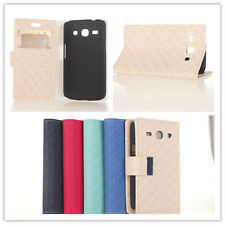 Maze PU Leather wallet cover stand Flip skin Case for Samsung Galaxy Star2 G350E