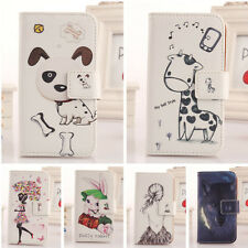 1X Lovely Design PU Leather Case Protection Cover Skin For FLY Smartphone New