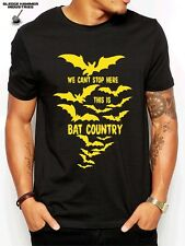 T SHIRT BAT COUNTRY, FEAR & LOATHING, HUNTER S THOMPSON, RAVE, PARTY, TECHNO TEE