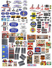 1:24 FORD GARAGE DECALS FOR DIECAST AND MODEL CARS & DIORAMAS