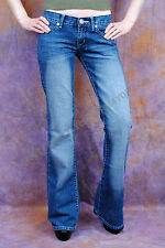 LADIES ROCK&REPUBLIC VICTORIA BECKHAM JEANS W26 L33  UK6