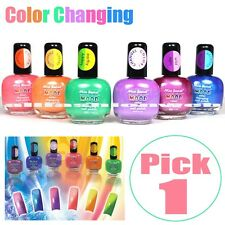 1 MIA SECRET MOOD COLOR CHANGING NAIL POLISH LACQUER PICK 1 COLOR - MADE IN USA