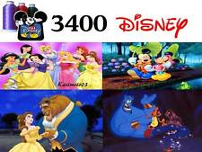 3400+ Disney Cartoon Embroidery Machine Designs Patterns PES DST HUS JEF VP3