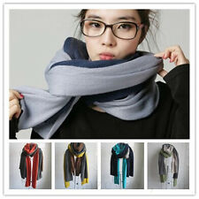 New women/men Cashmere wool knit soft Scarf Shawl classics Multi-Color  X-Long