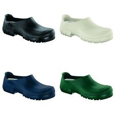 Birkenstock Professional A640 with stealtoe clogs - Black White Blue Green
