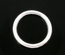 Wholesale Lots SP Soldered Closed Jump Rings 12x1mm Findings