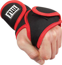 Title Boxing Deluxe Weighted Gloves MMA Training Fitness Hand Weights Black/Red