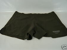 NIKE BROWN WOMEN'S FLAT FRONTED SHORTS RARE GYAKUSOU  BNWT SIZE L AND XL