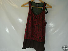 NIKE RED BLACK RUNNING GYM VEST  RARE GYAKUSOU  BNWT SIZE L AND XL