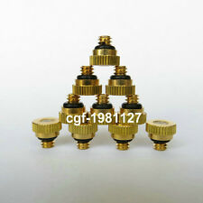 """Brass Misting Nozzles for Cooling System 0.012"""" (0.3 mm) 10/24 Lot 5, 10 & more"""